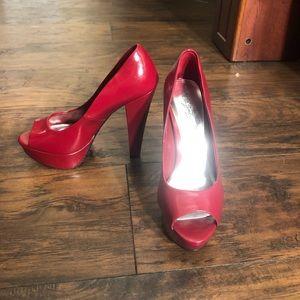 City Streets Red Heels